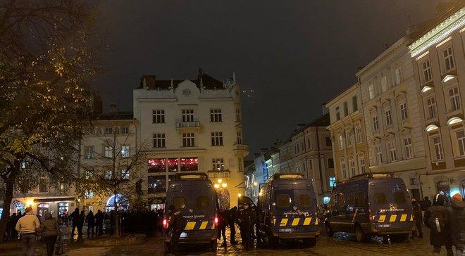 Олександрія – Сент-Етьєн: фанати влаштували ще одну бійку у центрі Львова