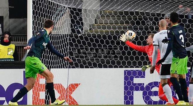 Ліга Європи: ЛАСК у вольовому стилі сенсаційно розгромив ПСВ, Стандард на останніх хвилинах здолав Айнтрахт