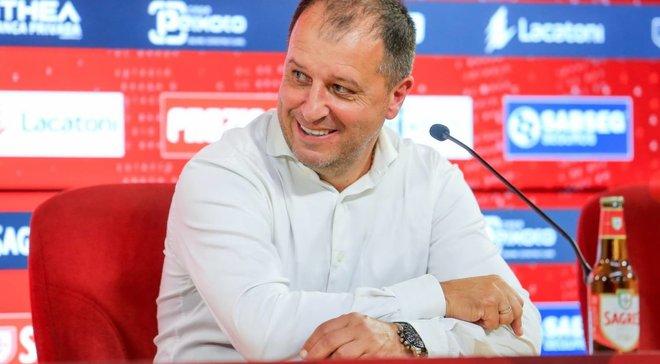 Вернидуб прокоментував своє призначення на посаду головного тренера солігорського Шахтаря
