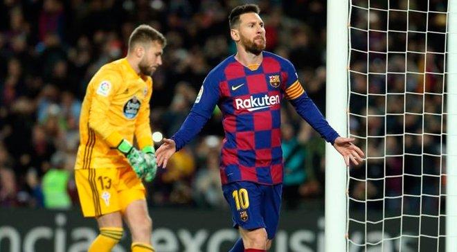 """Барселона – Сельта: хет-трик фантастичного Мессі при блідому футболі """"блаугранас"""" та необхідності відставки Вальверде"""