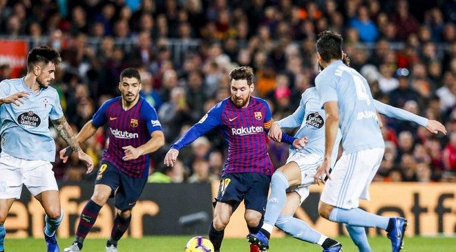 Барселона – Сельта: онлайн-трансляция матча Ла Лиги