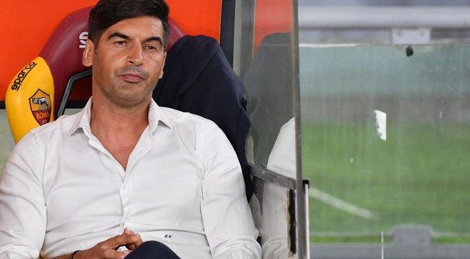 Фонсека пожаловался на несправедливость относительно Ромы в матче Лиги Европы