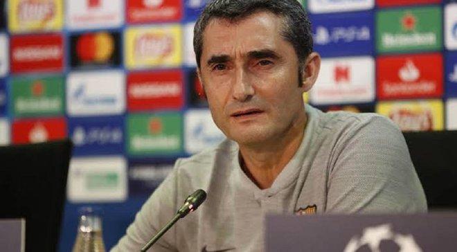 Вальверде признался, что руководство Барселоны выразило ему поддержку