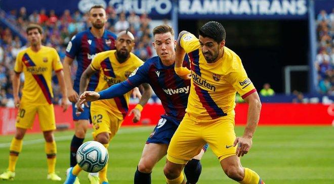Суарес попал в заявку Барселону на матч против Сельты – форвард должен был пропустить игру из-за повреждения