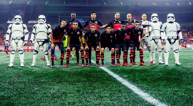 """""""Звездные войны"""" вдохновили мексиканский клуб на создание футбольной формы – эффектная видеопрезентация"""
