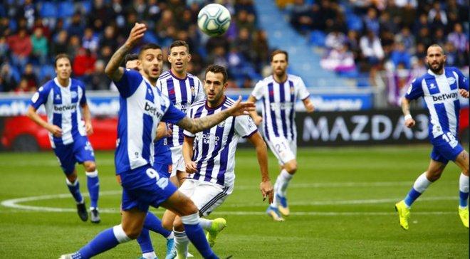 Валенсия одолела Гранаду, Алавес разгромил Вальядолид Лунина: 13-й тур Примеры, матчи субботы