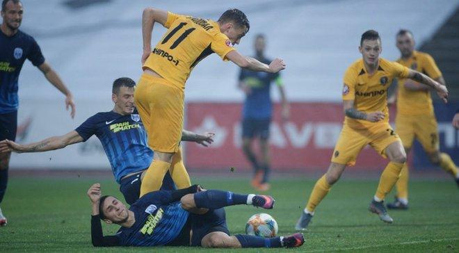 Десна – СК Дніпро-1 – 1:1 – відео голів та огляд матчу