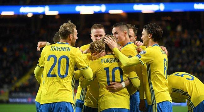 Гравці збірної Швеції присягнули на презентації нової форми