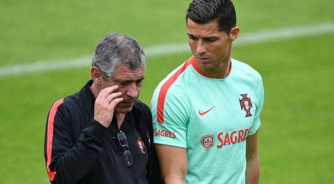 Сантуш оценил состояние Роналду перед ключевыми матчами отбора на Евро-2020