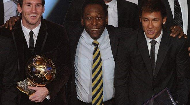 Пеле назвав трьох найкращих футболістів сучасності