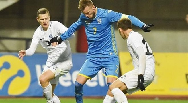 Україна – Естонія: Шевчук вказав на головну проблему команди Шевченка у спарингу