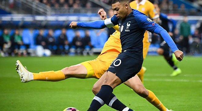 Франция – Молдова – 2:1 – видео голов и обзор матча