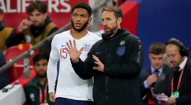 Стерлінг став на захист Джо Гомеса – захисника освистали фанати збірної Англії
