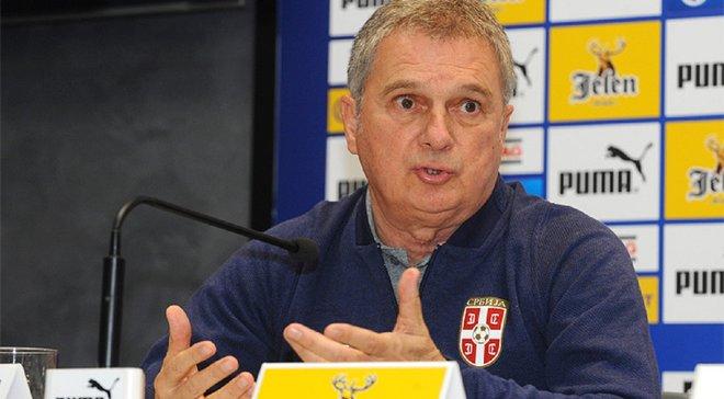 Главный тренер Сербии поделился своими опасениями перед решающим матчем против Украины