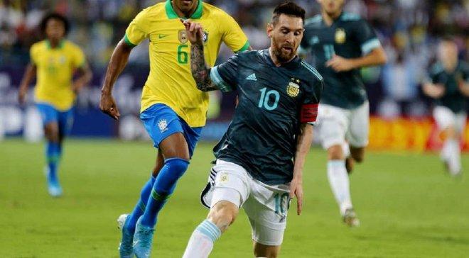 Сборная Аргентины благодаря голу Месси обыграла Бразилию в товарищеском матче