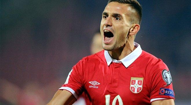 Звезда сборной Сербии Тадич угрожает Украине местью