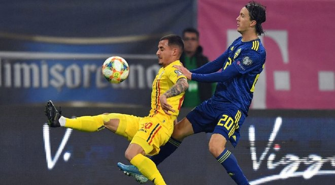 Фіаско Румунії у відеоогляді матчі відбору до Євро-2020 зі Швецією