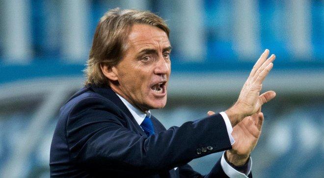Манчини прокомментировал историческое достижение сборной Италии