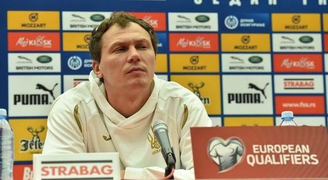 Сербія – Україна: Пятов хоче завоювати прихильність місцевих вболівальників