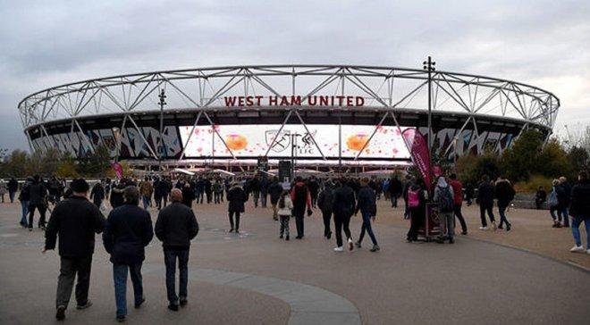 Біля стадіону Вест Хема знайшли бомбу – матч проти Арсенала можуть перенести