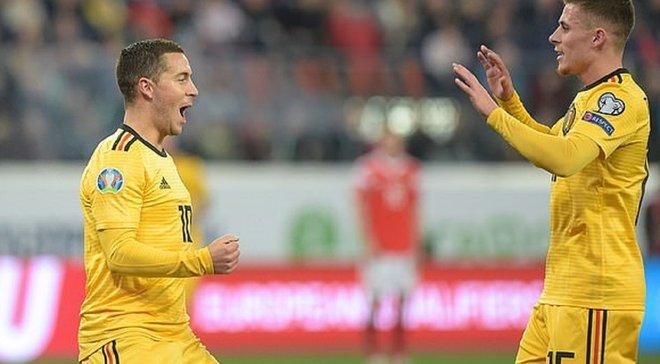 Росія – Бельгія – 1:4 – відео голів та огляд матчу