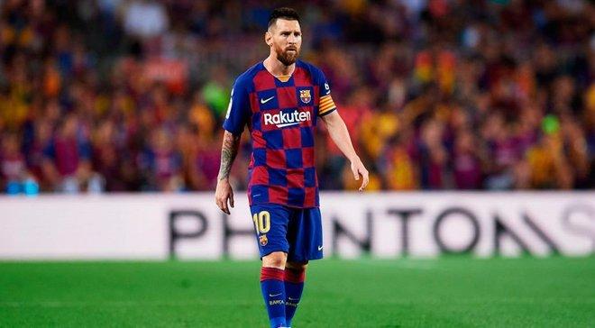 Барселона ожидает решения Месси о продлении контракта