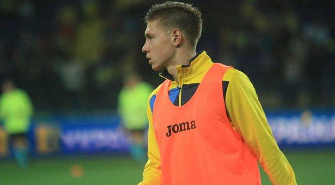 Сербия – Украина: Матвиенко объяснил, почему не смог избежать игры рукой, за которую назначили пенальти