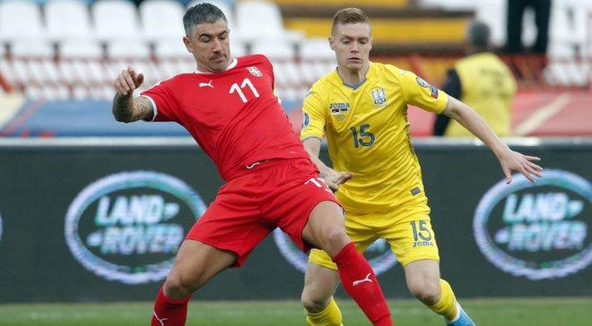 Сербія – Україна: Циганков віддав перший асист за національну збірну в ювілейному матчі