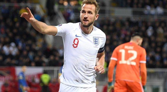 Кейн відзначився голами у всіх матчах відбору на Євро – перший випадок в історії збірної Англії