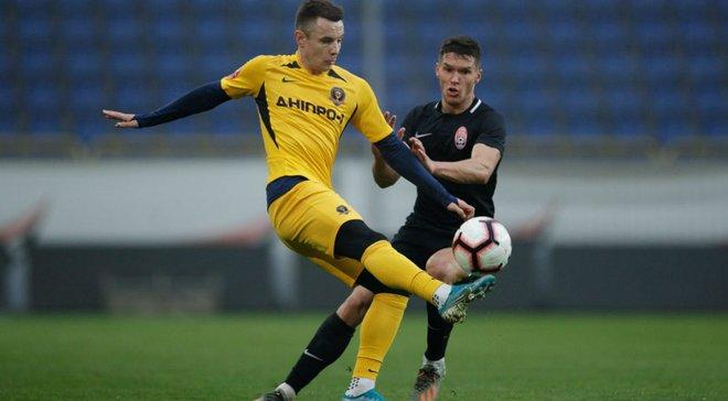 Громов забил невероятный гол с центра поля в спарринге Зари и СК Днепр-1