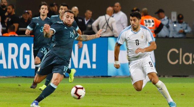 Аргентина вирвала нічию у спарингу з Уругваєм – Мессі та Агуеро влаштували битву зіркових дуетів проти Суареса і Кавані