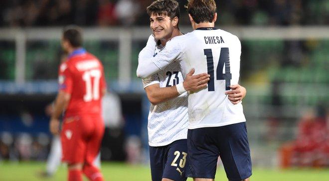 Италия – Армения – 9:1 – видео голов и обзор матча