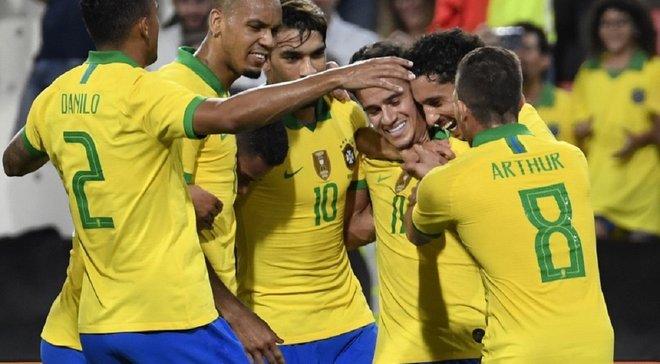 Бразилия разгромила Южную Корею в спарринге – Коутиньо забил первый за 5 лет гол сборной со штрафного