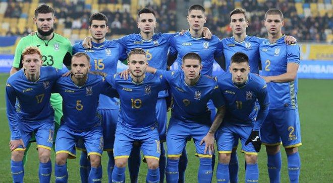 Украина U-21 вдевятером расписала ничью с Азербайджаном благодаря голу Русина