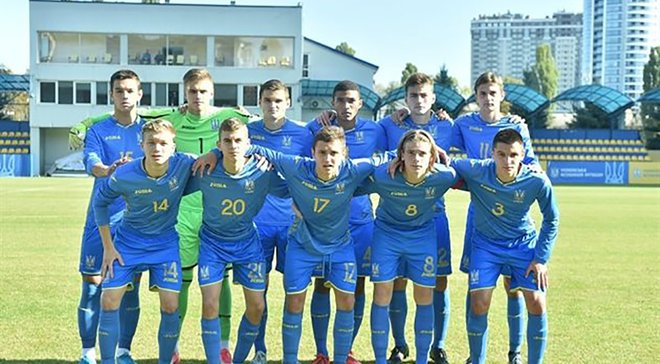 Украина U-17 расписала мировую с Португалией и с первого места вышла в следующий раунд отбора на Евро-2020