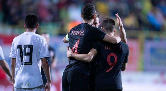 Товарищеские матчи: Хорватия обыграла Грузию с Хочолавой, Черногория уверенно одолела Беларусь
