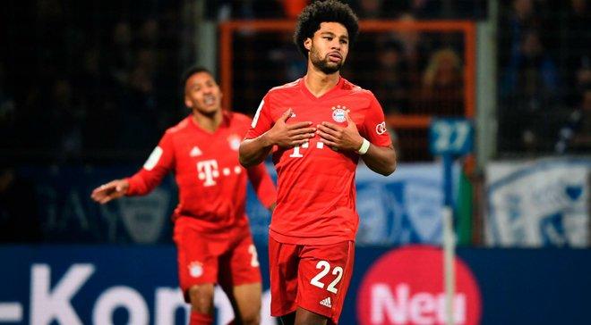 Гнабрі став найкращим гравцем місяця в Бундеслізі