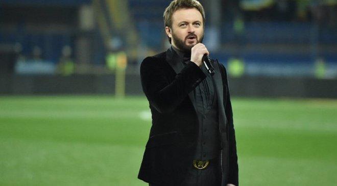 Дзидзьо будет исполнять гимн Украины перед матчами сборной на Евро-2020