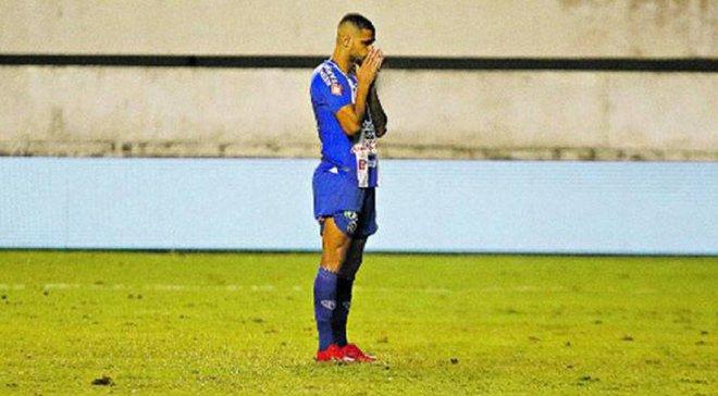 Захисник бразильського клубу виконав найбезглуздіший пенальті в історії і позбавив команду Кубка