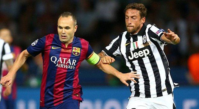 """Іньєста має не один мозок, а три – він заслужив на """"Золотий м'яч"""", – Маркізіо"""