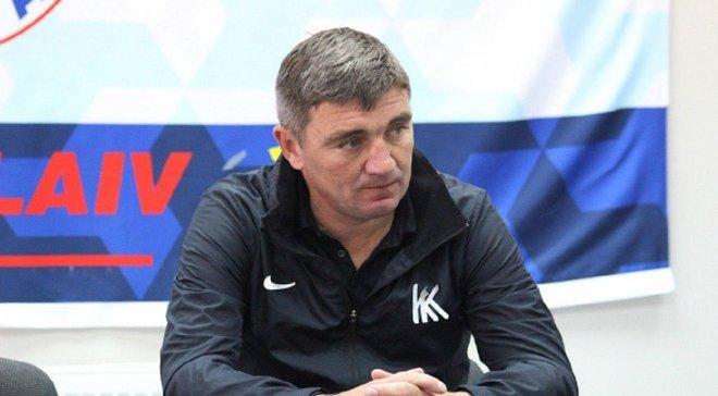 Костышин: Игрокам Колоса трудно дается Премьер-лига