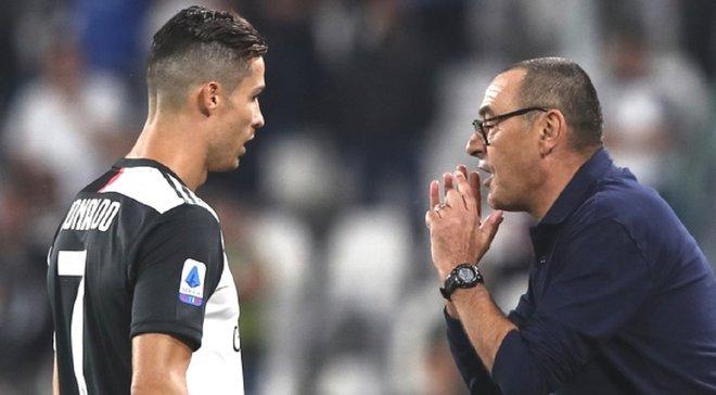 """""""Роналду на 99% не зіграє в Бергамо"""", – Саррі розповів, чому португалець пропустить матч з командою Маліновського"""