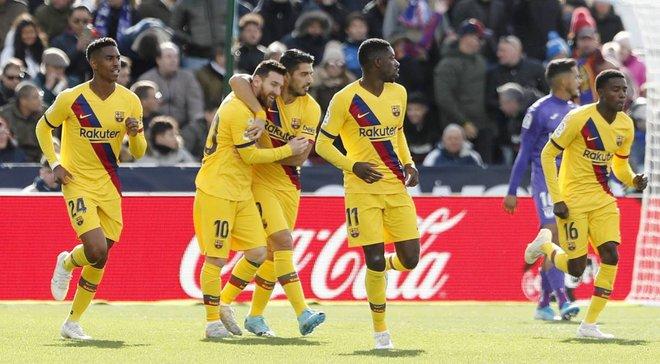 Леганес – Барселона: Вальверде, теннис, кошмар – в таком порядке, или Каталонцев спасает провал Гризманна