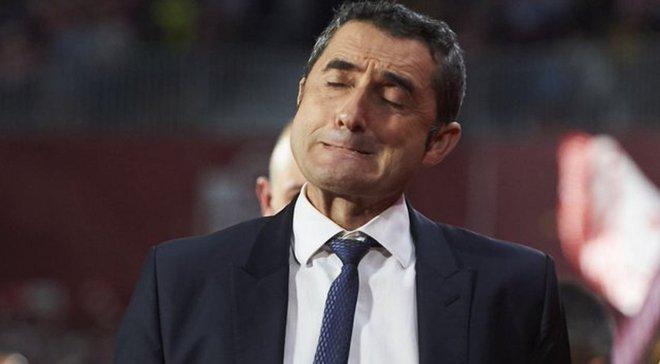 Вальверде назвав причини блідої гри Барселони з аутсайдером Ла Ліги