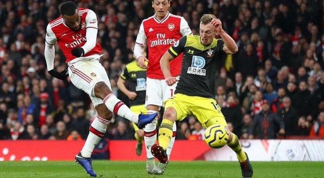 Рятівний дубль Ляказетта у відеоогляді матчу Арсенал – Саутгемптон – 2:2