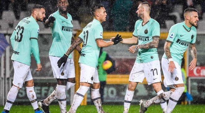 Інтер розгромив Торіно, Мілан та Наполі розписали нічию: 13-й тур Серії А, матчі суботи