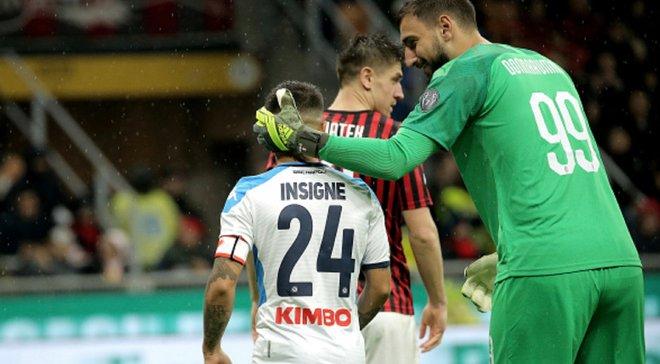Милан – Наполи – 1:1 – видео голов и обзор матча
