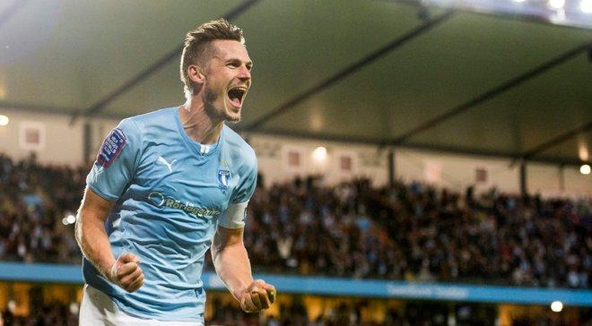 Мальме – Динамо: матч з киянами стане для капітана шведів Розенберга останнім на рідному стадіоні