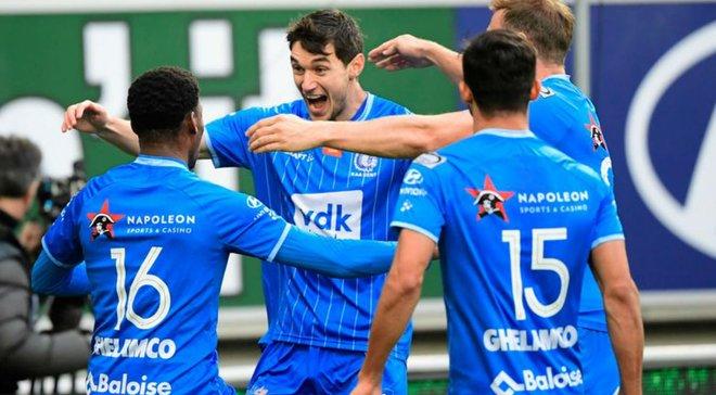 Яремчук забил красивый гол и преследует экс-динамовца в гонке бомбардиров – Гент драматично упустил победу