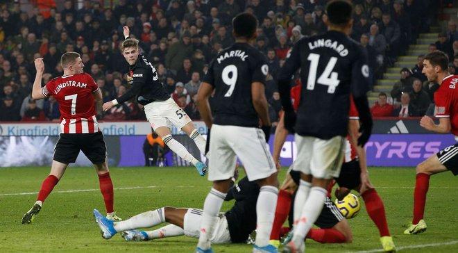 Манчестер Юнайтед расписал сумасшедшую ничью с Шеффилд Юнайтед в матче камбэков